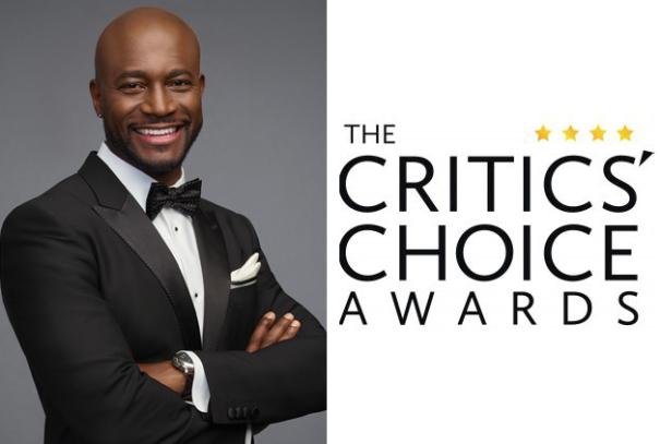 Taye Digg - Critics Choice Awards logo-2-shot