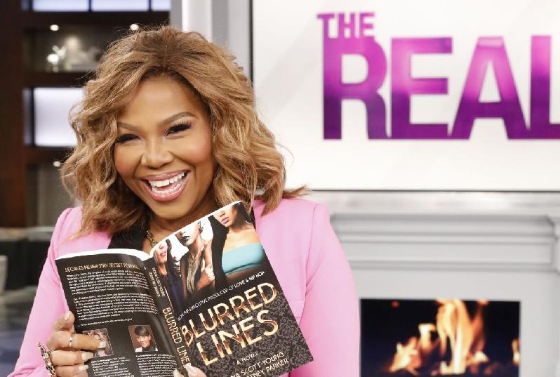 mona scott young - blurred lined - the real