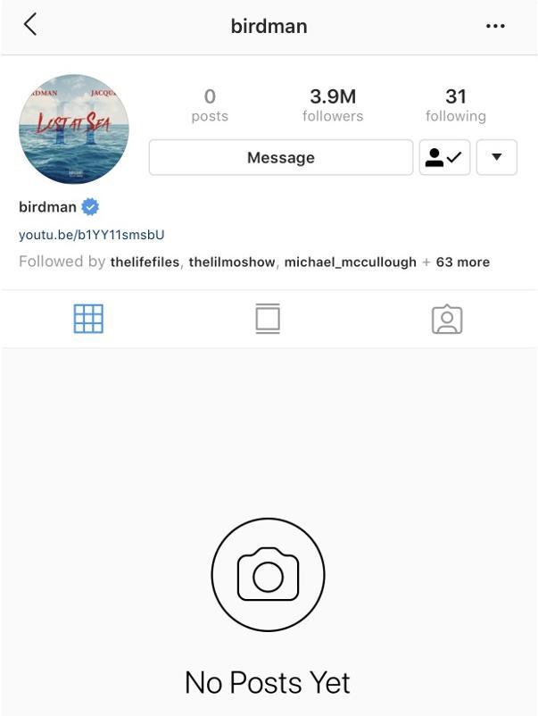 more birdman posts to toni braxton