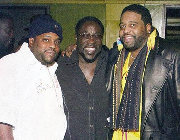 Sean, Eddie and Gerald Levert
