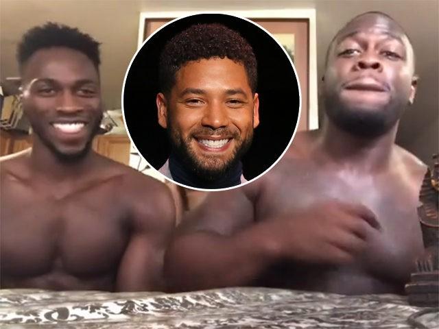Abimbola 'Abel' Osundairo and Olabinjo 'Ola' Osundairo & Jussie Smollett (inst)