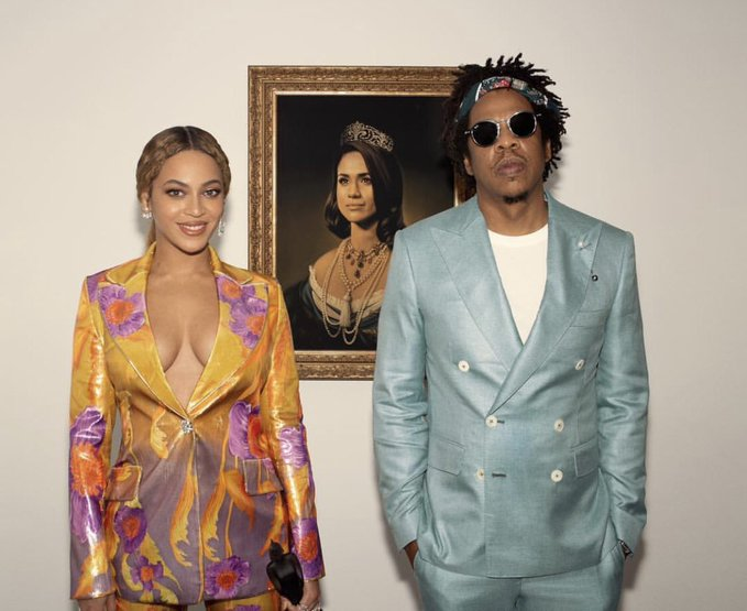 Beyoncé honoring Meghan Markle