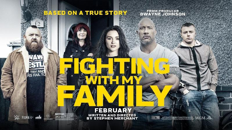 Fighting with My Family - poster