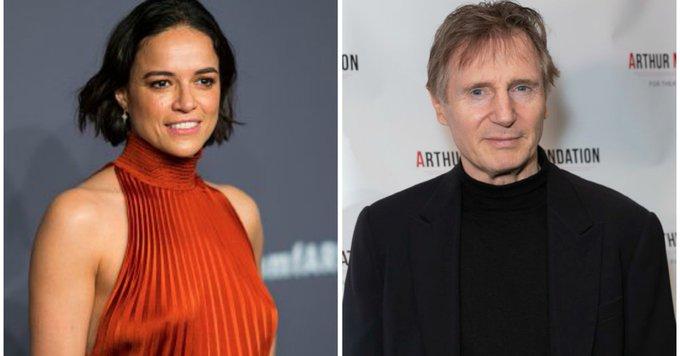 Michelle Rodriguez, Liam Neeson