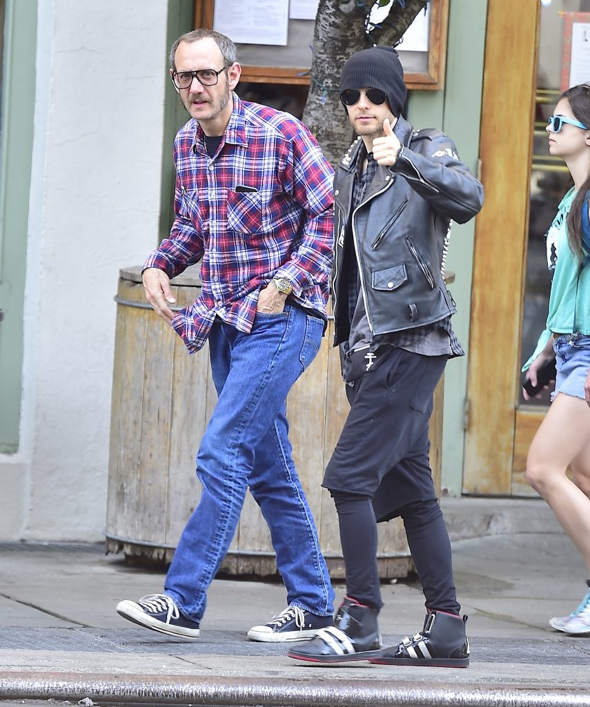 Celebrity Sightings In New York City - May 14, 2015