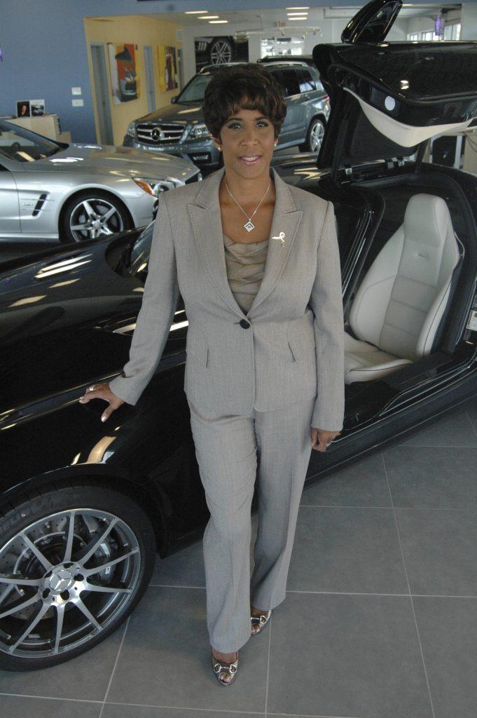 CEO Jenelle Ross leads Bob Ross Auto Group. (photo credit: JR)