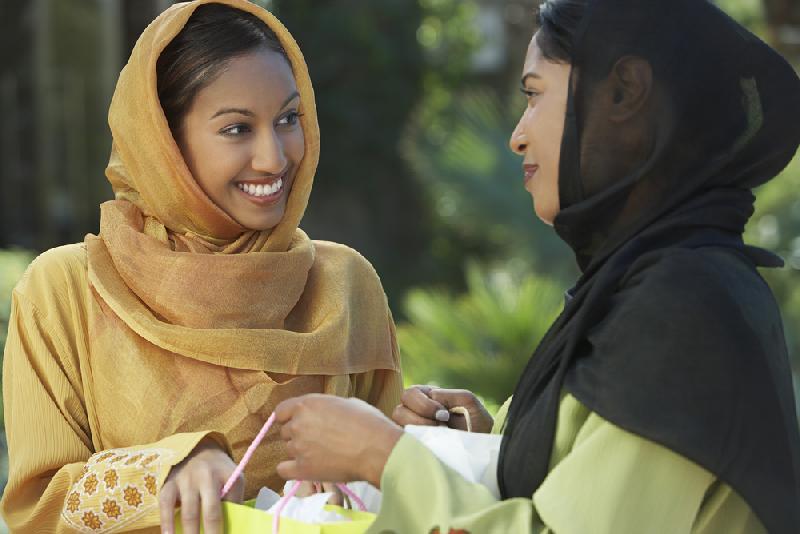 muslim women - wearing hajibs