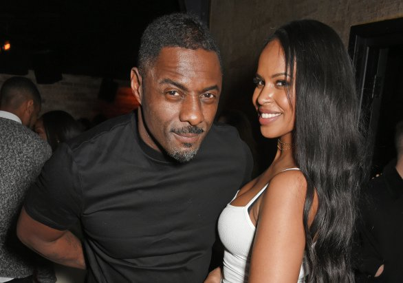 Idris Elba and Sabrina Dhowre1