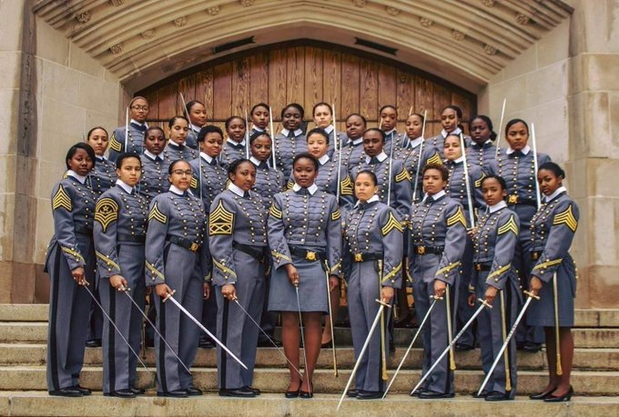 West Point celebrates the largest-ever number of black women graduates in a single class