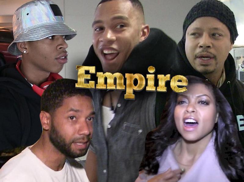 empire cast collage - via tmz