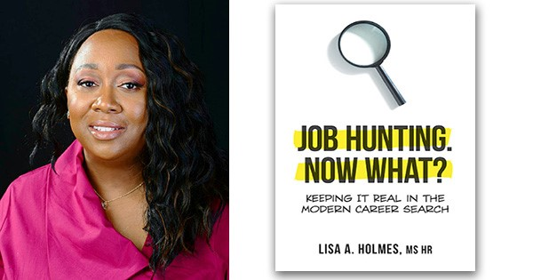 lisa holmes & book cover
