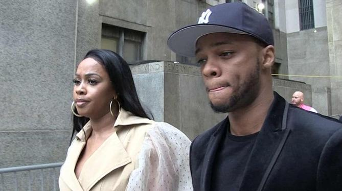 remy ma & papoose - leaving court screenshot - tmz