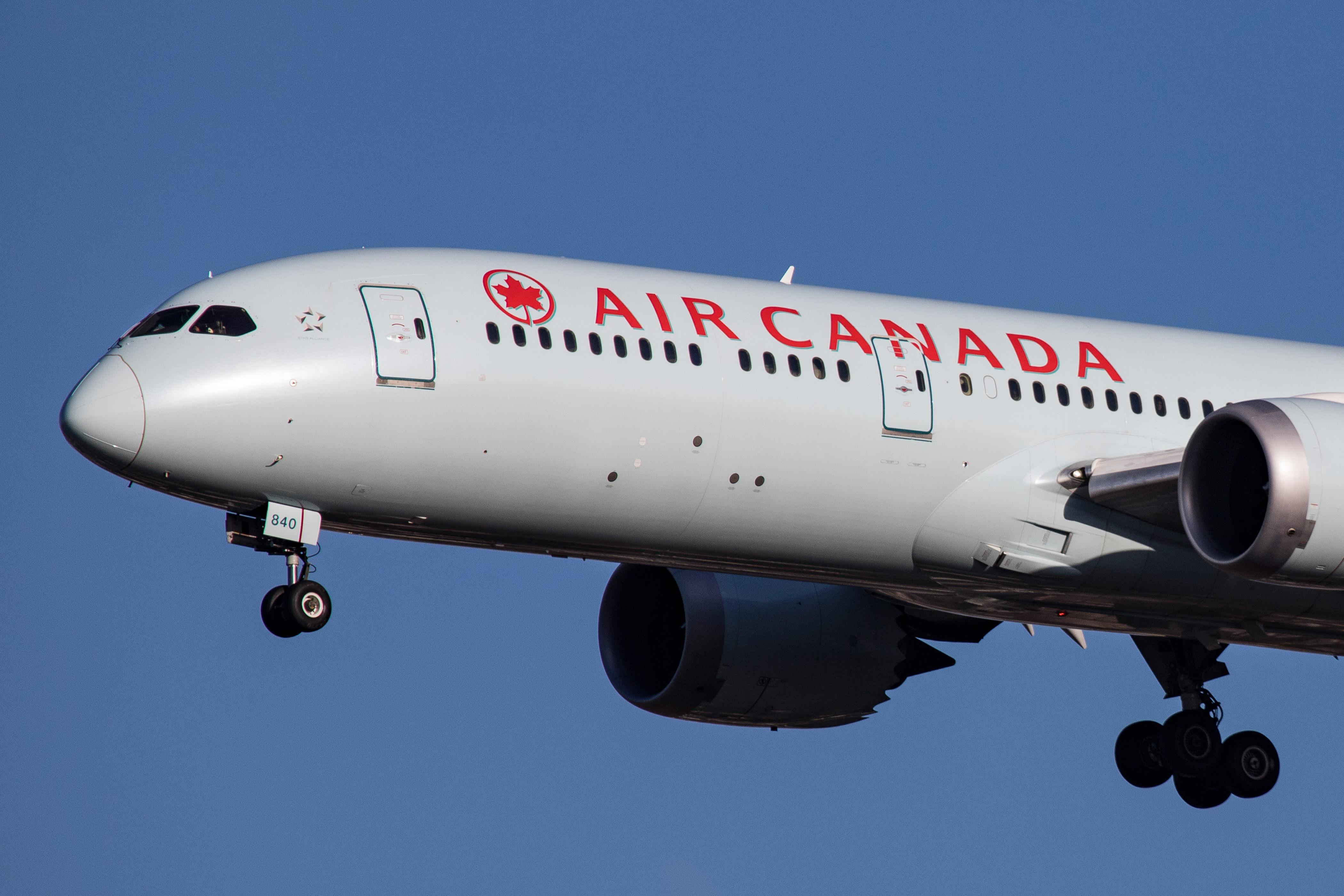 Air Canada Boeing 787 Dreamliner