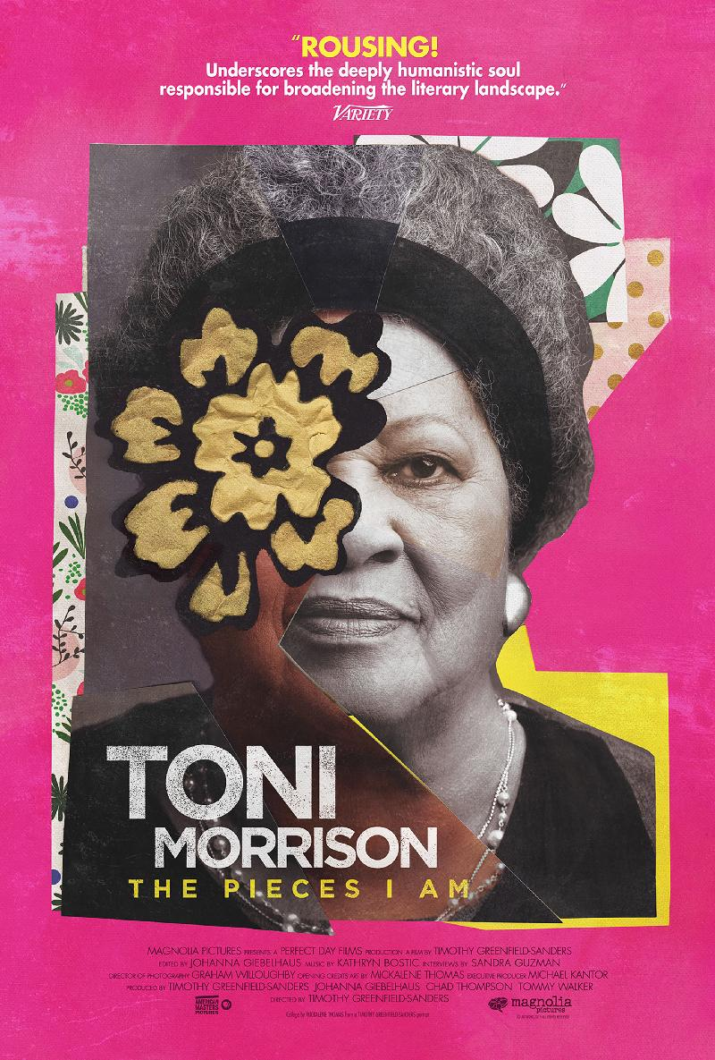 TONI MORRISON THE PIECES I AM_Official Poster