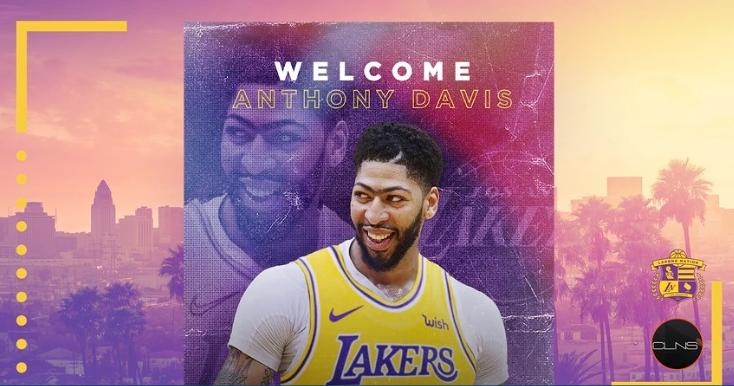 anthony davis - welcome to the lakers
