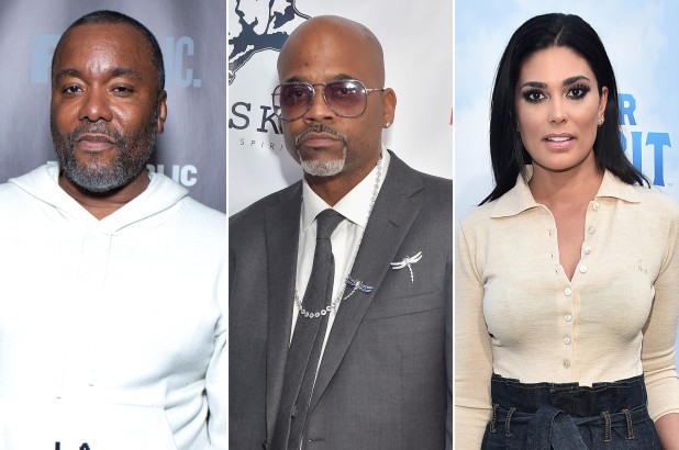 lee daniels, damon dash, rachel roy