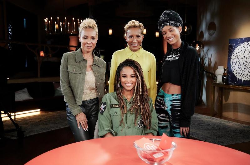 red table talk - ciara & jada adrienne willow