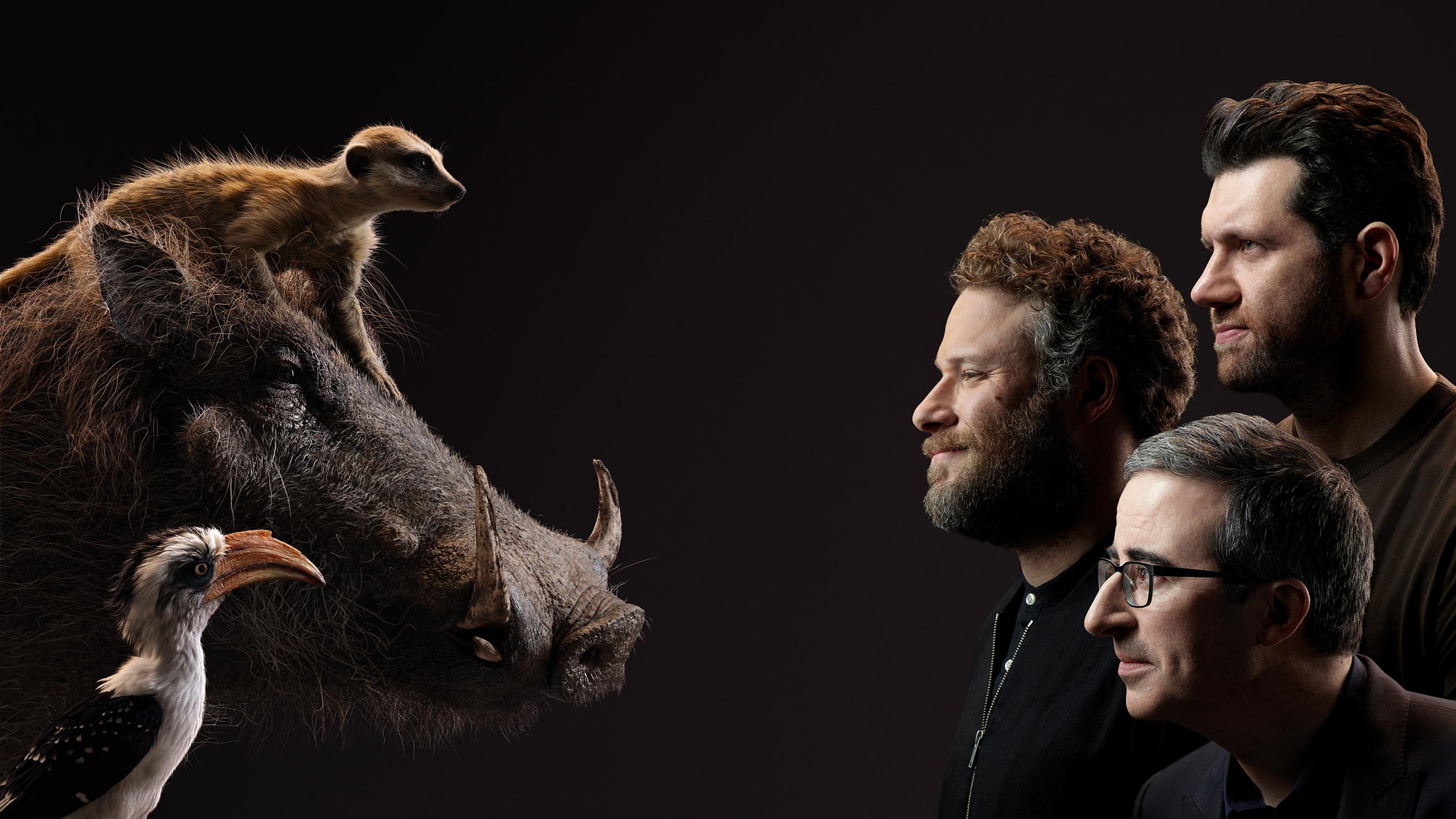 the lion king, Seth Rogen, Billy Eichner, John Oliver