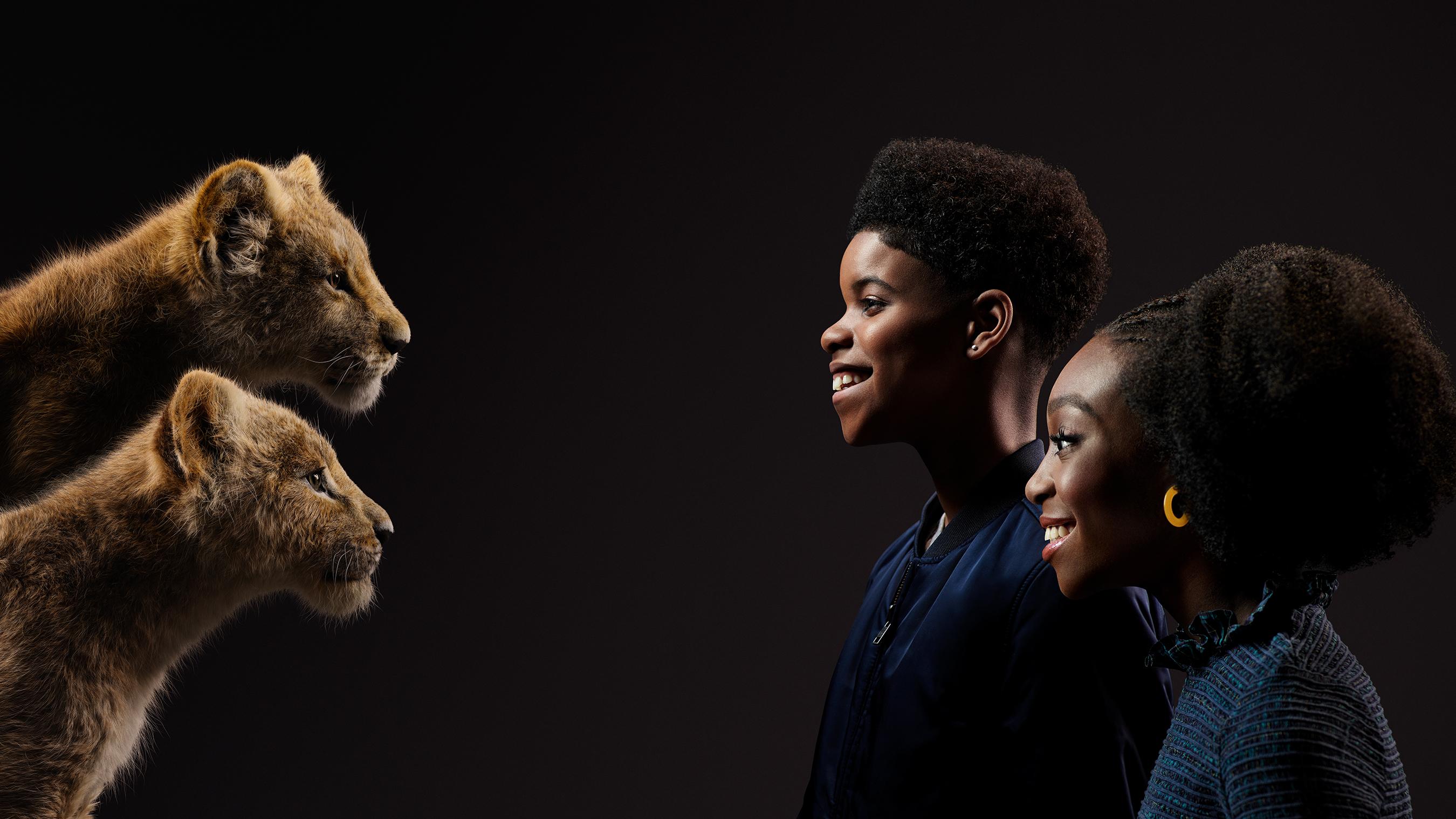 THE LION KING, JD McCrary, Shahadi Wright Joseph