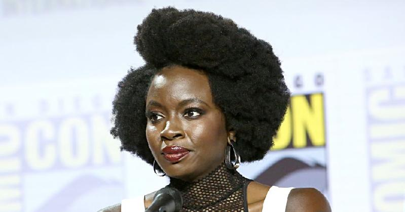 danai gurira (comic con - getty)