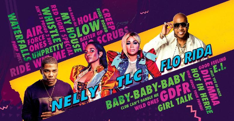 flo rida - tlc - nelly - poster