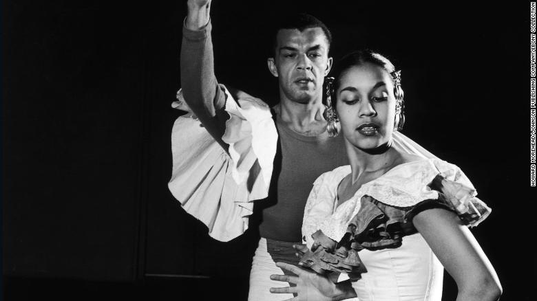 Carmen De Lavallade and James Truitt