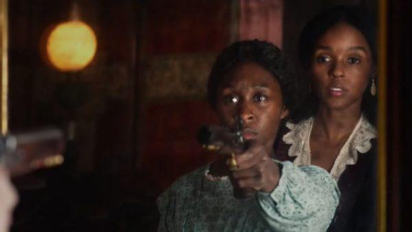 Cyntiha Erivo as Harriet Tubman + Janelle Monae