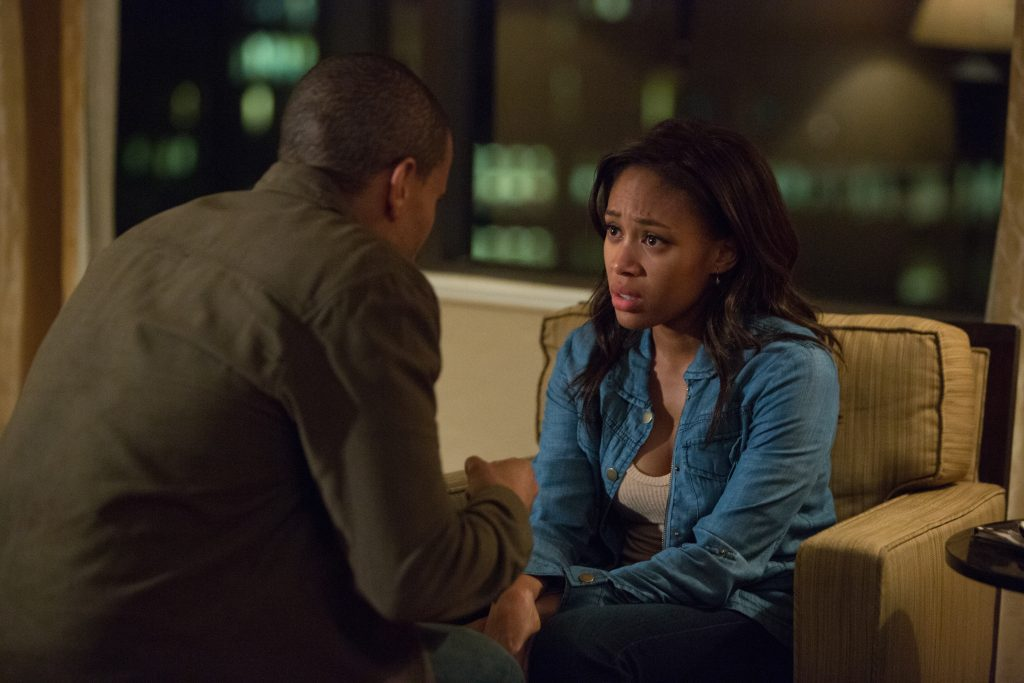 Michael Ealy and Nicole Beharie in 'Jacob's Ladder