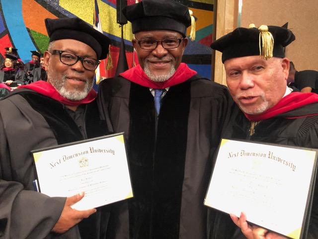 RADIOMEN: Dr. Lee Bailey, Dr. Eric J. Chambers and Dr. William Tayari Howard