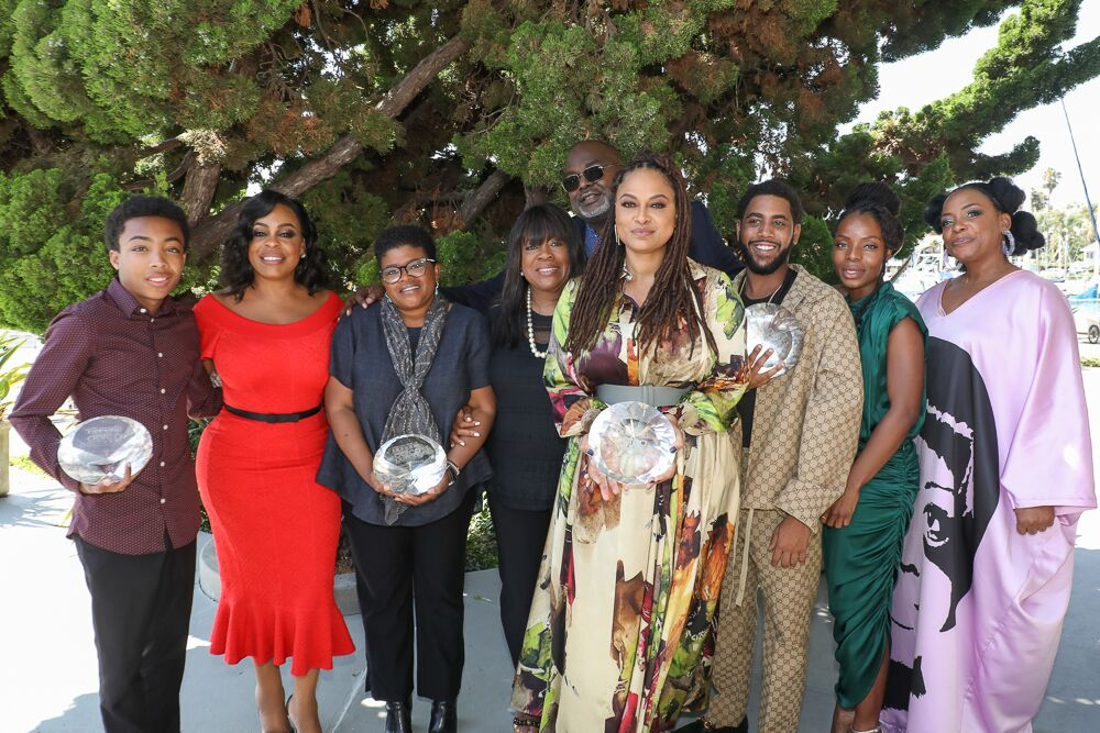 ava duvernay & when they see us cast - aafca tv winners