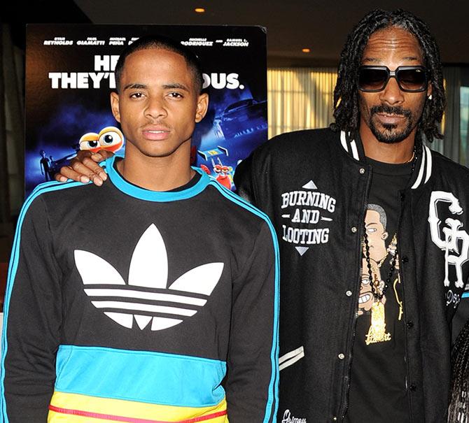 Corde Broadus & father Snoop Dogg