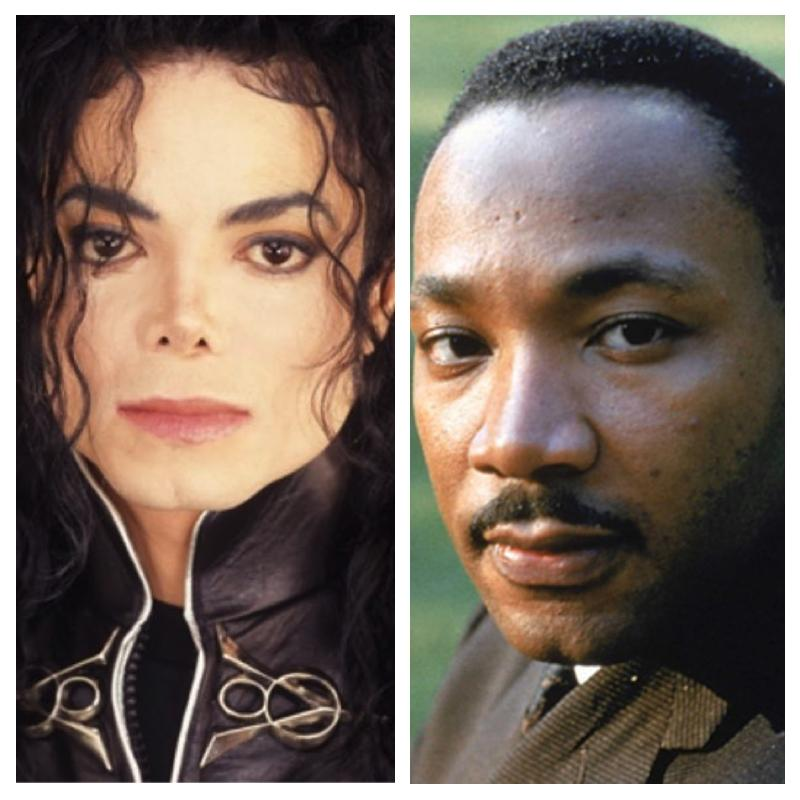 Michael Jackson - Martin Luther King photo