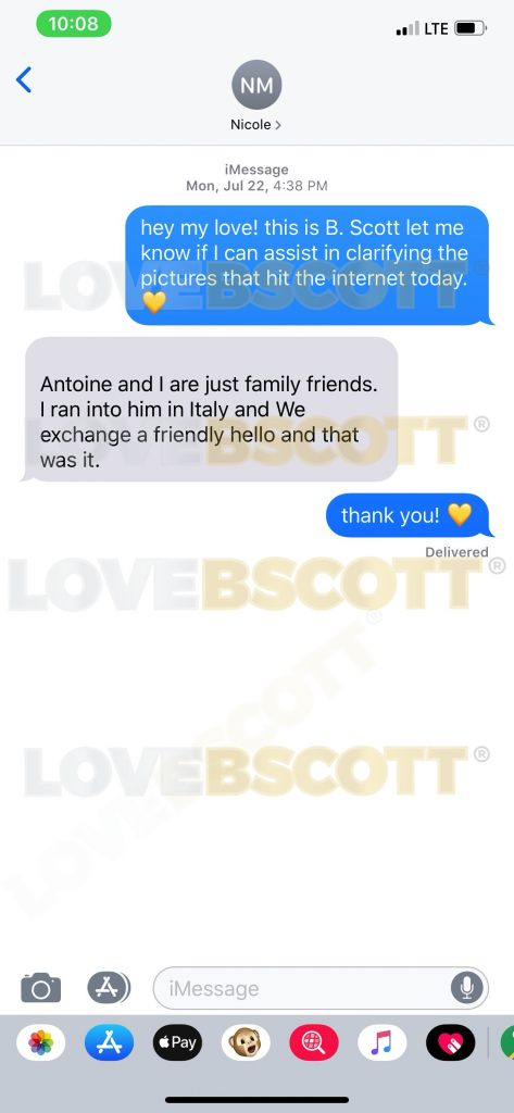 Nicole Murphy, Love B. Scott