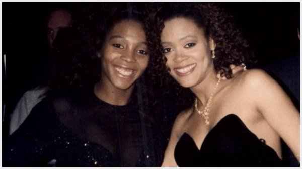 robin givens and her sister