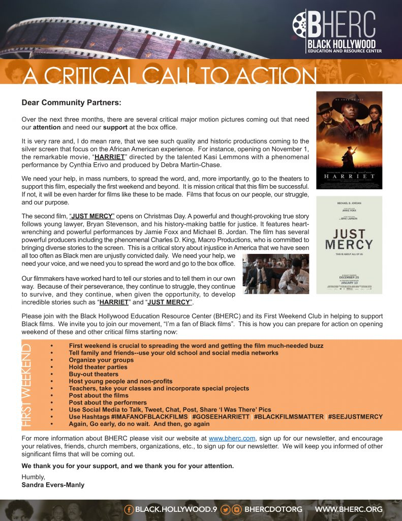 BHERC Call to Action