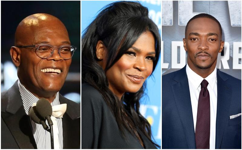 Samuel L. Jackson - Nia Long - Anthony Mackie star in 'The Banker'