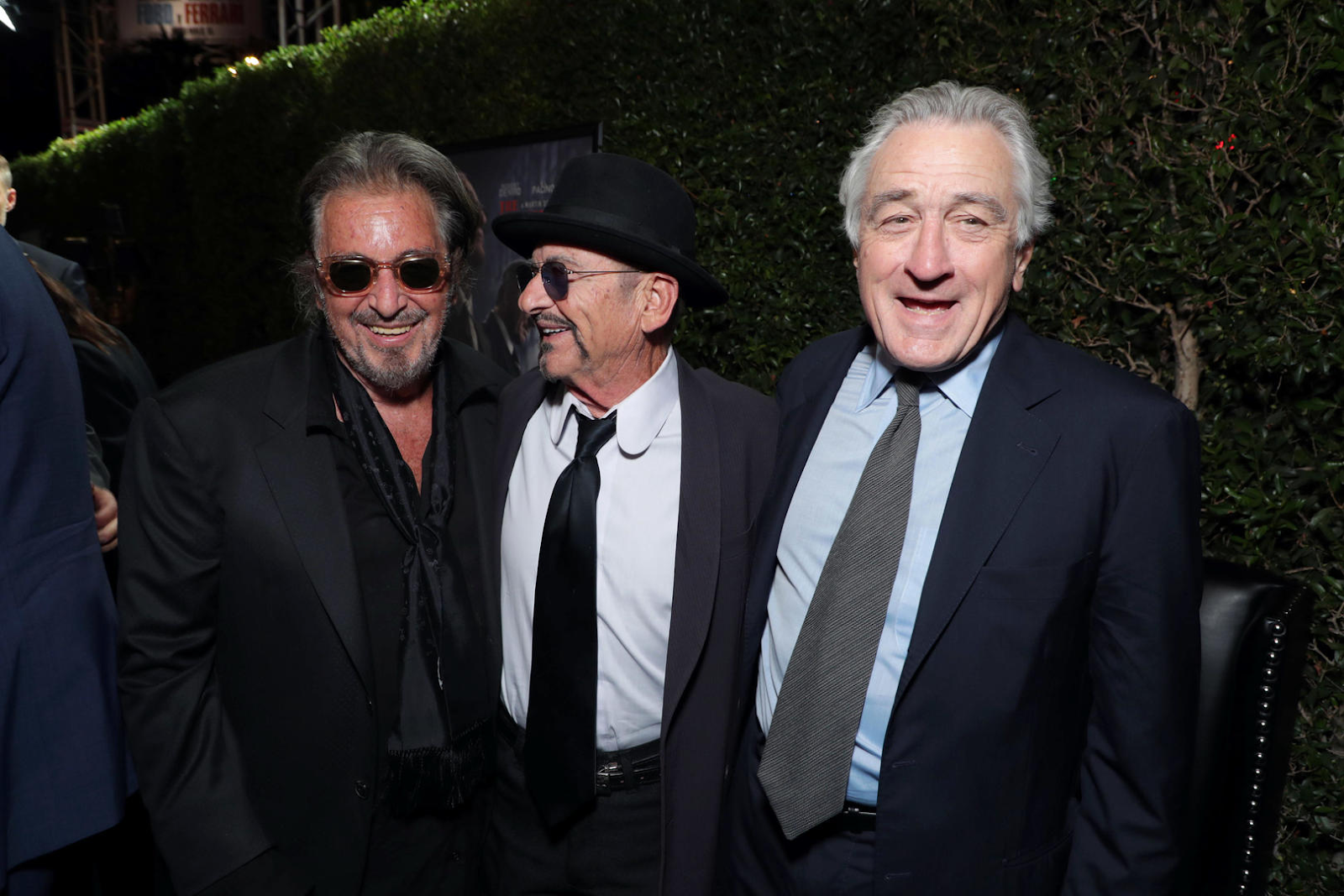 the irishman, Robert De Niro, Al Pacino, Joe Pesci