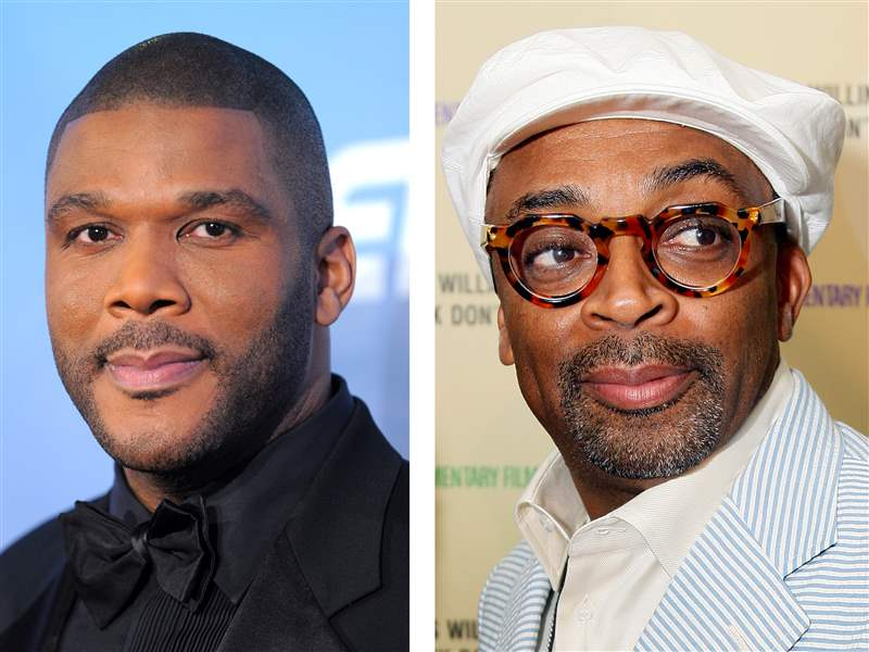 Tyler Perry and Spike Lee (getty)