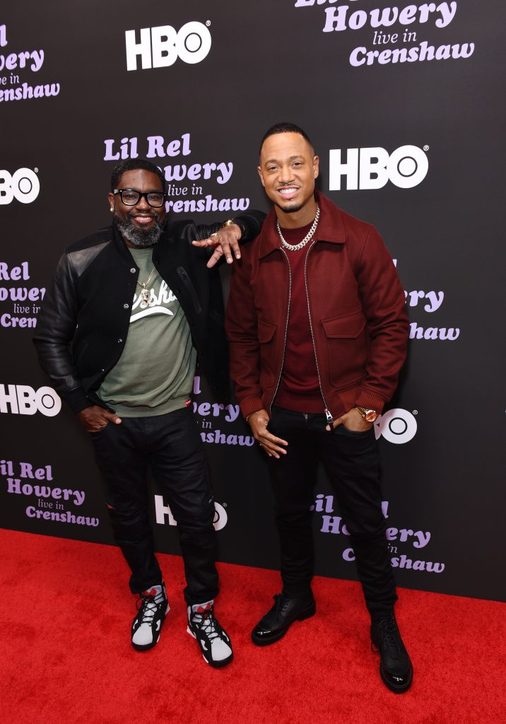 Lil Rel Howery (L) and Terrence J