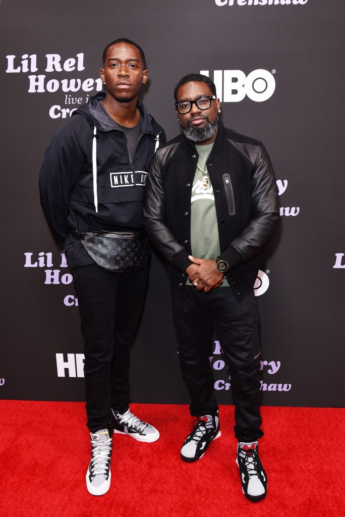 Damson Idris (L)and Lil Rel Howery