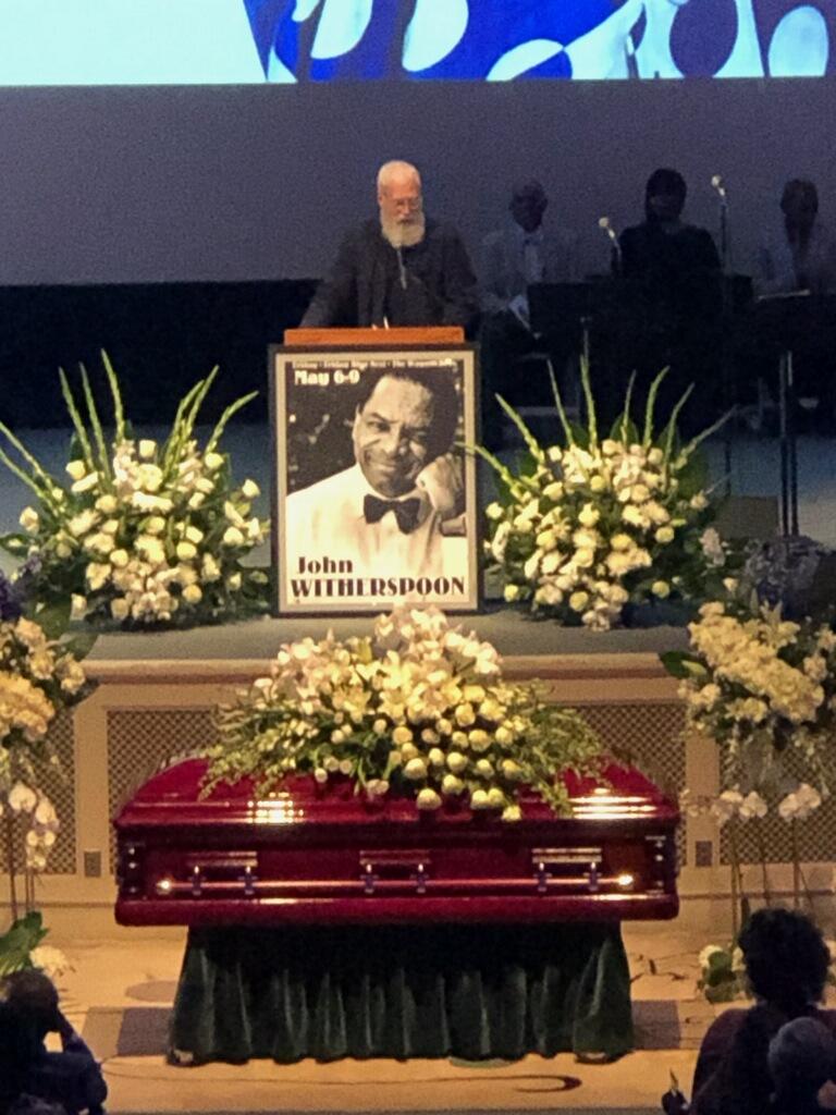 David Letterman - John Witherspoon celebration of life