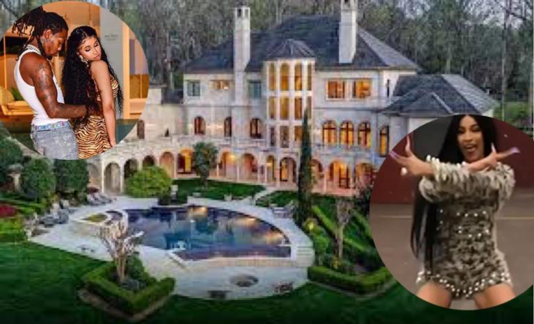 Cardi b & Offset mansion