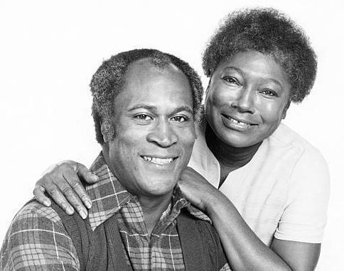 John Amos - Ester Rolle - gettyimages