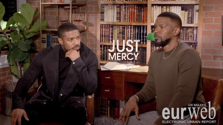 Michael B Jordan - Jamie Foxx1 (screenshot)