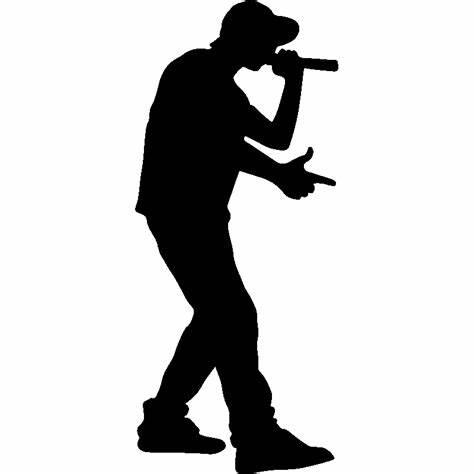rapper silouhette