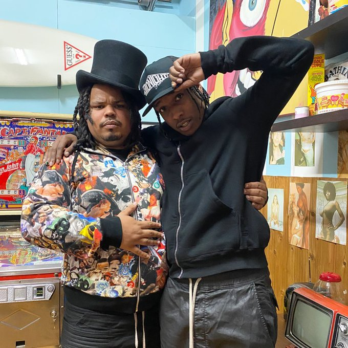 ASAP Rocky with Kerwin Frost