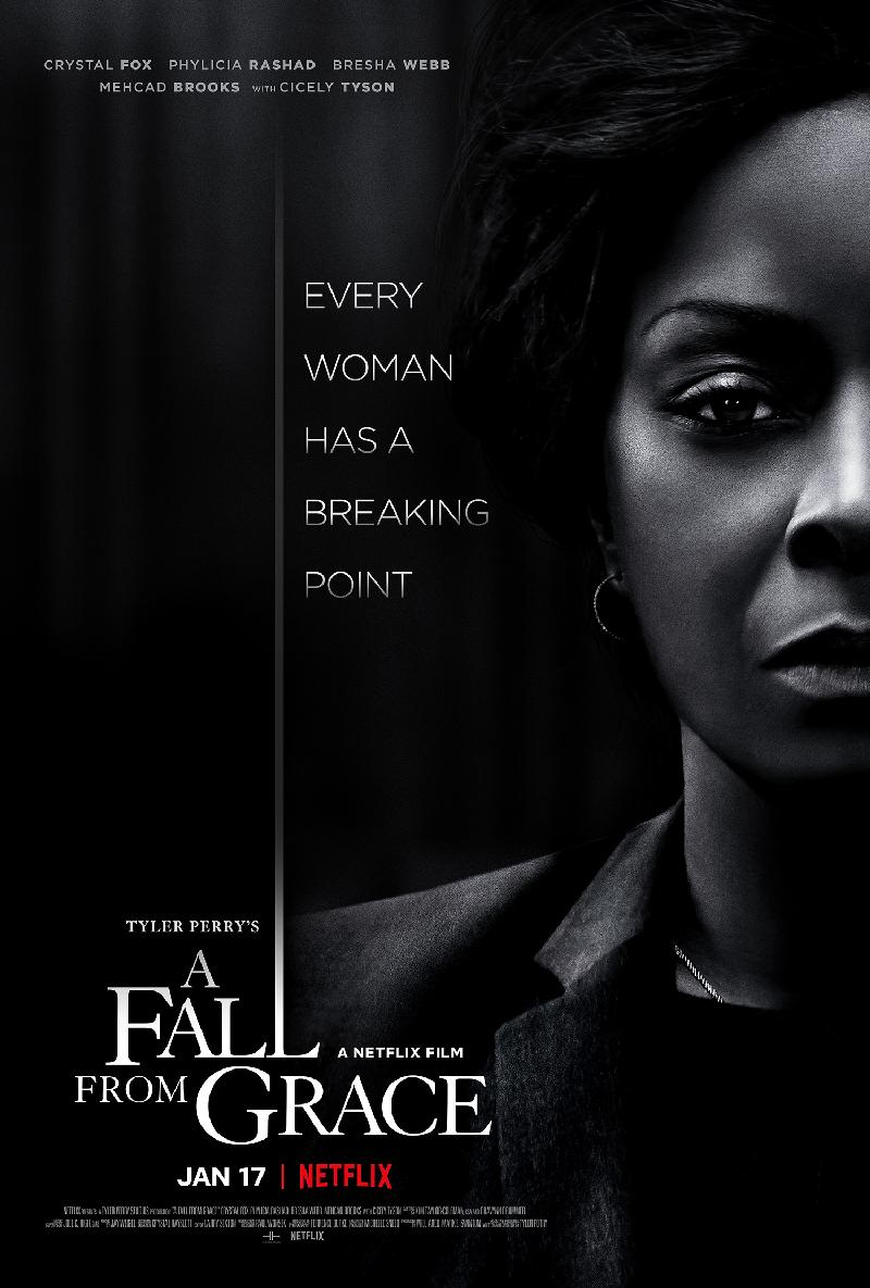 A Fall From Grace - poster