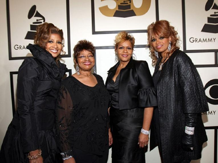 Clark Sisters (black outfits - getty)