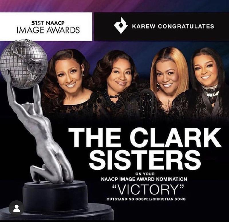 Clark Sisters - image awards nom poster