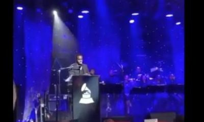 Diddy speech at pre-grammy party